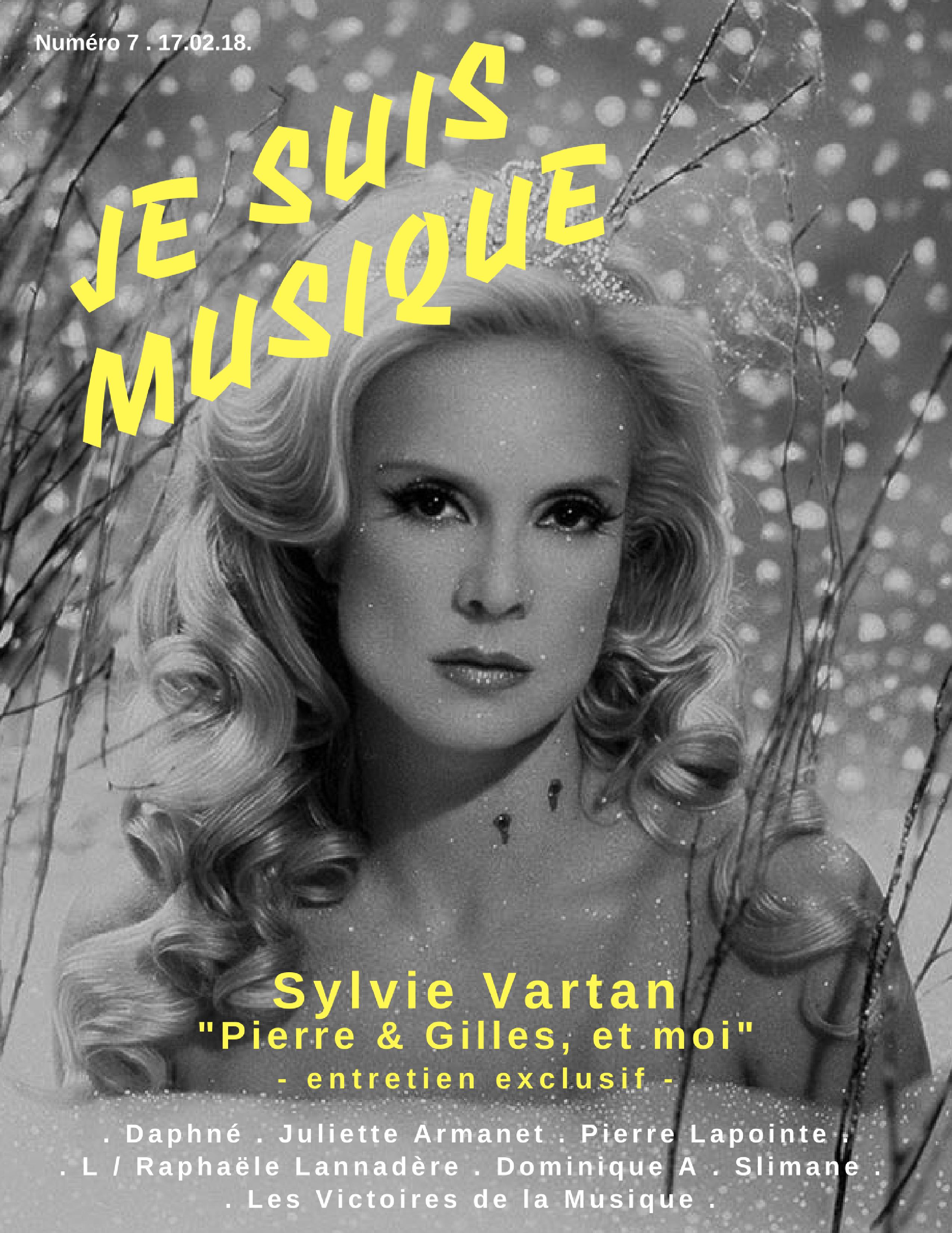 JSM 7 JeSuisMusique Sylvie Vartan Pierre & Gilles COUV DEF (1)