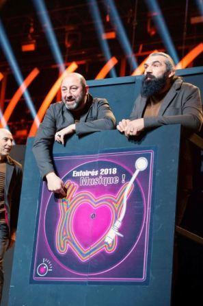 JSM 8 je Suis Musique Les Enfoirés photos cc Christophe Chevalin TF1 (11)