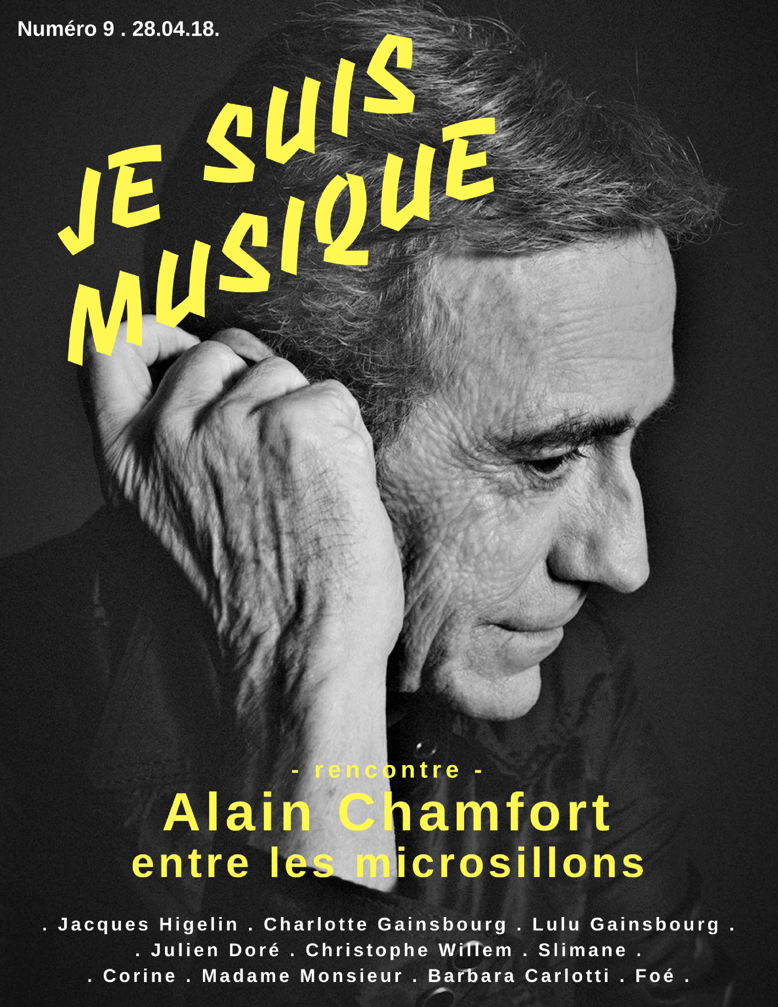 JSM 9 Alain Chamfort Je Suis Musique Cover (1)