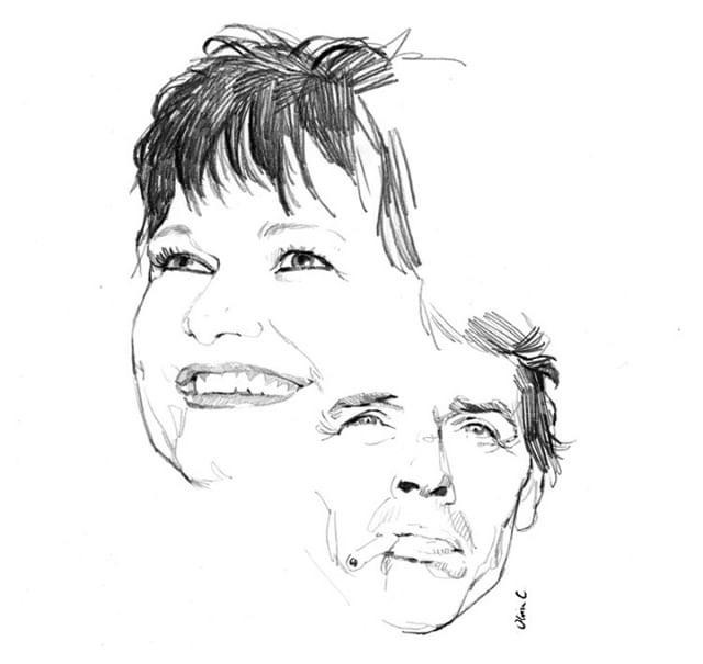 MAURANE et Jacques Brel par Olivier Coulon (1)