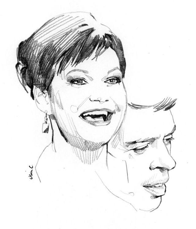 MAURANE et Jacques Brel par Olivier Coulon (2)