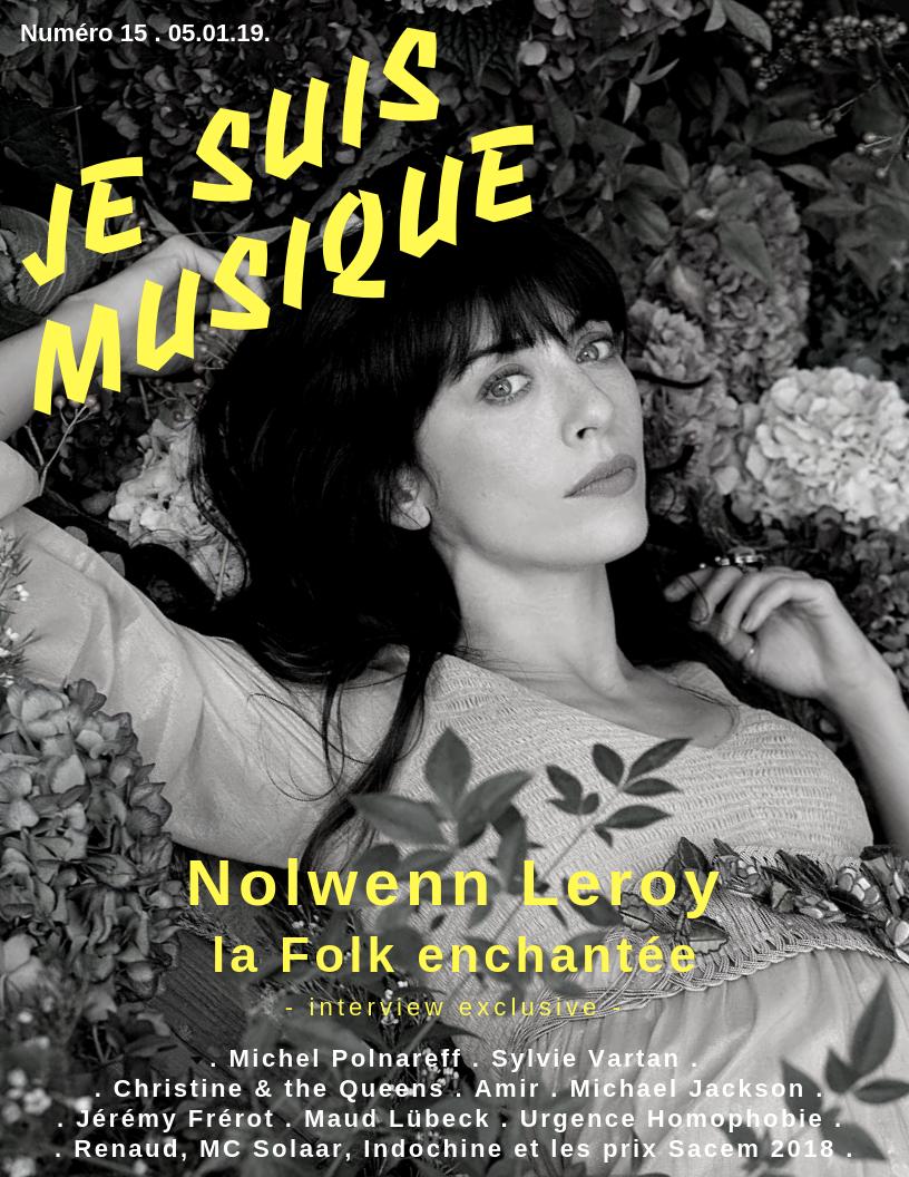 JSM 15 Je Suis Musique Nolwenn Leroy par Yves Bottalico
