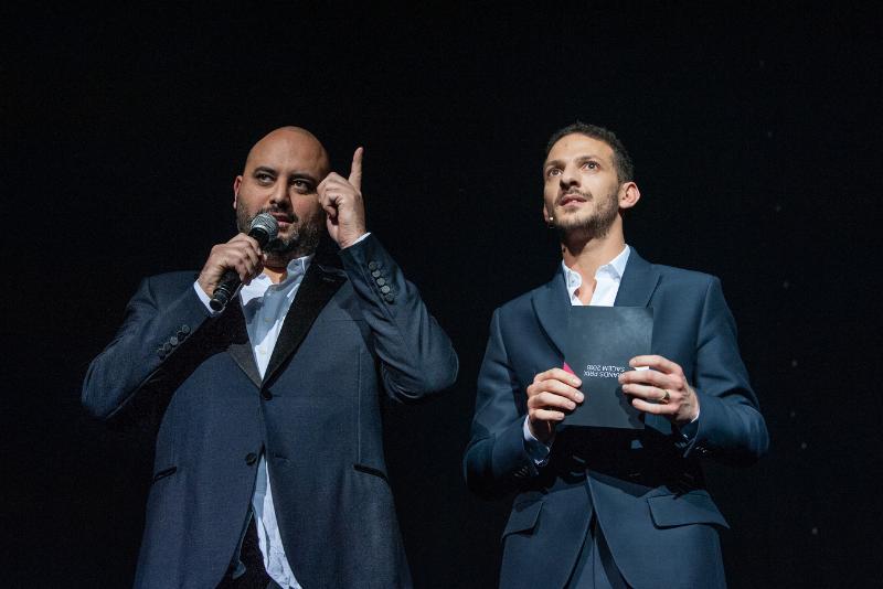 JSM Je Suis Musique 15 SACEM 2018 Vincent Dedienne et Jérome Commandeur par Nicolas Krief